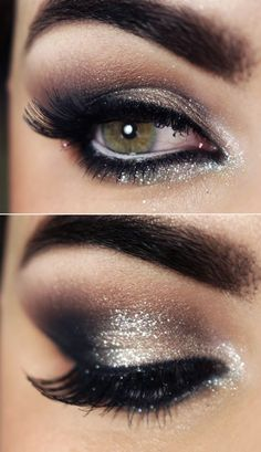 Silver accents! Wedding eyes <3