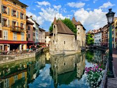 32 places everyone should visit in France - Stroll through Annecy, one of the prettiest towns in the Alps.