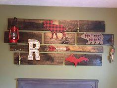 DIY wood wall decor
