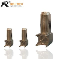 For PCB Mount RF Connector Best Quality To Sale F Female Right Angle Solder Adapter 3pcs/lot wholesale
