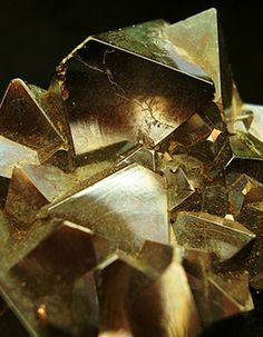 Gold crystal.