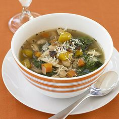 Tuscan Chicken, Bean and Spinach Soup by Cooking Light