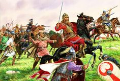 Battle of Adrianople. On August 9, 378 c.e., the Eastern Roman army under the command of Emperor Valens attacked a Gothic army (made up of Visigoths and Ostrogoths) that had camped near the town of Adrianople
