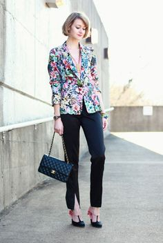 Colorful #Work #Attire. #Fashion #Idea for #Working #Women #Professional #Business #Outfits