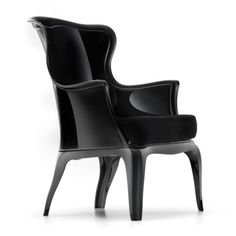 The Pasha Chair Blends Tradition With New School Style: Its Polycarbonate  Construction In Glossy Black