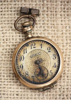 .pocketwatch with a beautiful face
