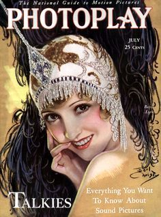 Photoplay Magazine with Bessie Love 1929