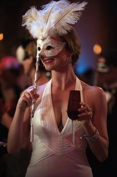 At times on halloween i wanna dress up in just a masquerade mask... like emily .. =)