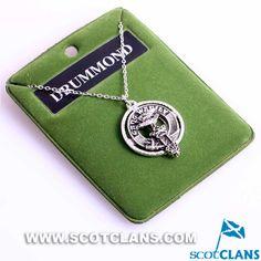 Drummond Clan Crest Pendant
