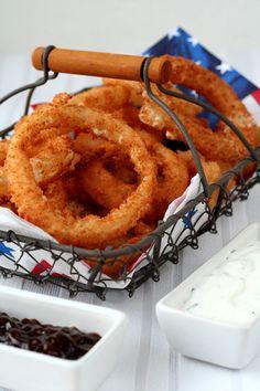 ONION RINGS http://www.196flavors.com/fr/2015/01/30/etats-unis-onion-rings-et-sauce-ranch/