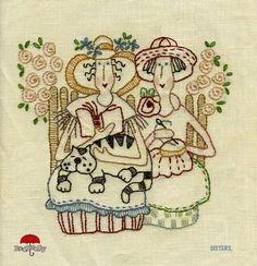 Sisters - third free Bronwyn Hayes pattern