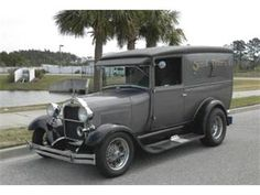 1929 Ford Panel Delivery.