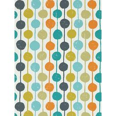 BuyScion Taimi Wallpaper, Sulphur/Tangerine, 111122 Online at johnlewis.com