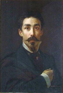 PEDRO AMÉRICO Auto-retrato, 1877, Galeria dos Uffizi