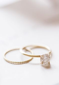 rose gold bling | engagement ring | Reverie Supply
