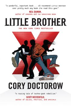 It you liked Divergent...Little Brother by Cory Doctorow