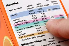 Using traffic light-coded food labels, which reveal the amount of fat, salt and sugar an item contains, helps people eat right and maintain healthy weight. Carbohydrates Food List, Complex Carbohydrates, Sodium Foods, Complex Carbs, Easy Weight Loss, Healthy Weight Loss, Diabetes, Reading Food Labels, Calorie Intake