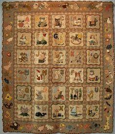 Alphabet Quilt - Tokyo International Quilt Festival 2008