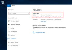 Step up Windows 10 Pro to Enterprise with Windows 10 Subscription Activation