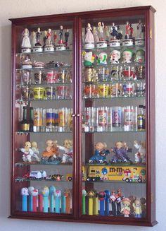 Xl Shot Shooter Gl Display Case Cabinet Rack Door