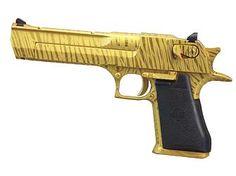 24karat Gold Tiger Stripe Desert Eagle 50AE - hmmmmmm...I dunno.