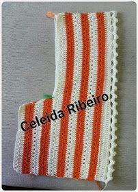 Celeida Ribeiro: Blusa de crochê! Crochet Pouf, Cotton Crochet, Filet Crochet, Crochet Stitches, Crochet Patterns, Crochet Hats, Crochet Poncho With Sleeves, Crochet Blouse, Top Crop Tejido En Crochet