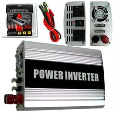 400 Watt DC Power Inverter to AC Power. 400 Watt Power Inverter provides 2 grounded AC outlets protective covers. Connects directly to your vehicle's battery terminals (color-coded cables included). Turns your car's DC power into standard household AC power. Safety features include LED indicator lights, low voltage alarm and shutdown. Perfect for powering computers, electronics, power tools, power tool chargers, appliances, TVs, video game consoles, compact refrigerators and electric …