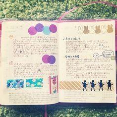 * 20150622-23... * 昨晩の雷雨はすごかったです。 電磁波音みたいな音で轟いてた * * * #ほぼ日手帳 #ほぼ日 #hobonichi #diary #日記 #ほぼ日2年生