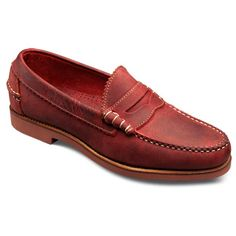 Allen Edmonds Men's Shoes - Casual Shoes - this would need to be for a very, very high fashion casual outfit.  Maybe color blocking matching bright red shirt and white pants (of course, only between memorial and labor days, never otherwise).  DEFINITELY, no socks allowed.