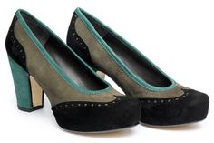 These Audley Gala Shoes are haunting me because I didn't buy them in Charlottesville.