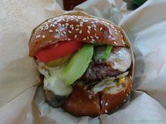 :-) Extraordinary Avocado Burger from Patrick's Roadhouse - HappyFace313 :-)