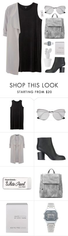 """Sin título #1012"" by maartinavg ❤ liked on Polyvore featuring Monki, Prada, Dorothy Perkins, Alexander Wang, Paper Mate, Ex Voto Paris and Casio"