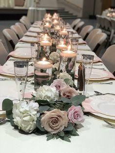 Amanda Bradford, Wedding Reception, Floral Design, Table Settings, Table Decorations, Home Decor, Marriage Reception, Decoration Home, Room Decor