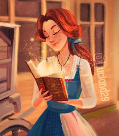 Belle from Beauty and The Beast 2017 Facebook Instagram