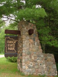 Itasca State Park is the start of the Mississippi. Outdoor Fun, Outdoor Camping, Minnesota Home, Minnesota Camping, Itasca State Park, Pine City, Park Rapids, Camping World, Camping 2017