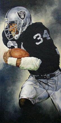 Bo Jackson Original Painting by MattPelletierArt on Etsy, $5000.00