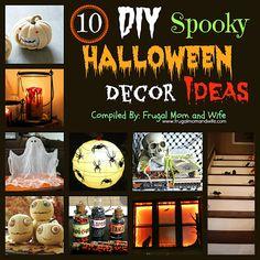 Frugal Mom and Wife: 10 DIY Spooky Halloween Decor Ideas!