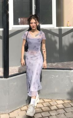 Pastel streetwear alt y2k fashion Aesthetic Fashion, Look Fashion, Aesthetic Clothes, Korean Fashion, Cute Casual Outfits, Pretty Outfits, Pretty Dresses, Summer Outfits, Looks Street Style