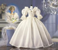 Diana Doll Wedding dress