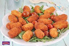 Cómo hacer croquetas de atún con patata y queso crema, una receta fácil y rápida, perfecta para una comida o una cena.