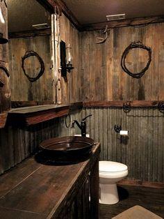 30 Awesome Rustic Bathroom Ideas For Men 30 Awesome Rustic Bathroom Ideas For Men 30 Awesome Rustic Bathroom Ideas For Men zonamasak.me The post 30 Awesome Rustic Bathroom Ideas For Men appeared first on Warm Home Decor. Barn Bathroom, Cabin Bathrooms, Primitive Bathrooms, Outdoor Bathrooms, Bathroom Ideas, Bathroom Organization, Bathroom Renovations, Bathroom Cabinets, Bathroom Makeovers