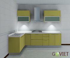 tủ bếp hiện đại có những đặc điểm gì?