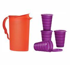 Tupperware | Tupperware(r) Impressions Pitcher & Tumblers