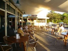 Hog's Breath Cafe Port Douglas: Bally Hooley Station, Wharf Street, Marina Mirage, Port Douglas QLD 4871 PH: (07) 4099 4222