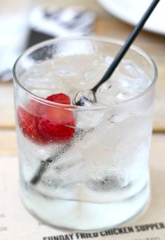 This Dolin & Soda Cocktail from the Rittenhouse Tavern sounds like a truly refreshing cocktail for a hot summer day.