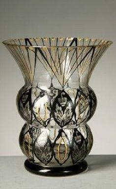 Váza Kamenický Šenov , kolem roku 1920