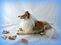 needle felted Rough Collie   Flickr - Photo Sharing!