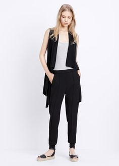 Lightweight Wool Cashmere Sweater Vest | Vince