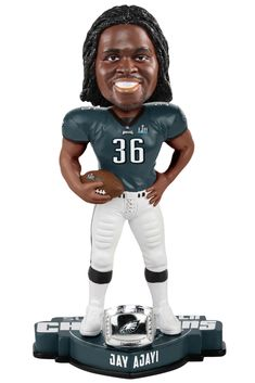 Jay Ajayi Philadelphia Eagles Super Bowl LII Champions Bobblehead Eagles  Win Superbowl b35023f35