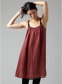 Linen dress by HARVEST